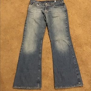 WOMANS LUCKY BRAND JEANS SZ 10/30